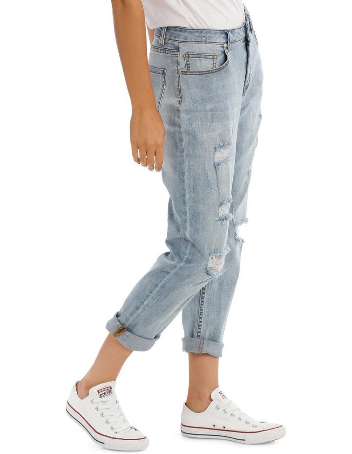 Penny Mid Rise Crop Slim Boyfriend Jean image 2