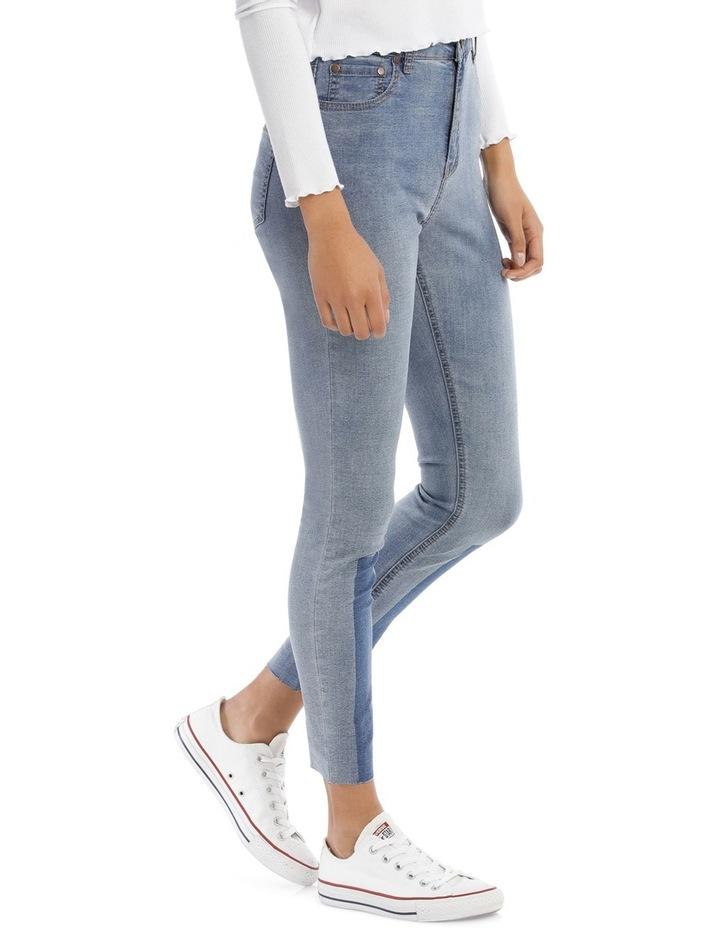 Riley Super High Waist Skinny Jean - Indigo Patch MSCW18065/K image 2
