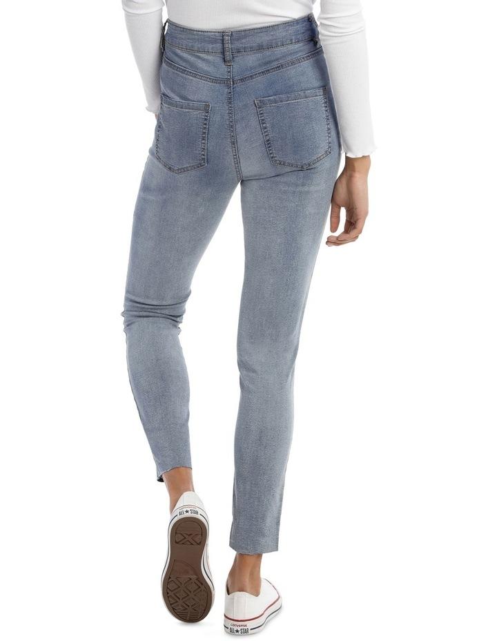 Riley Super High Waist Skinny Jean - Indigo Patch MSCW18065/K image 3