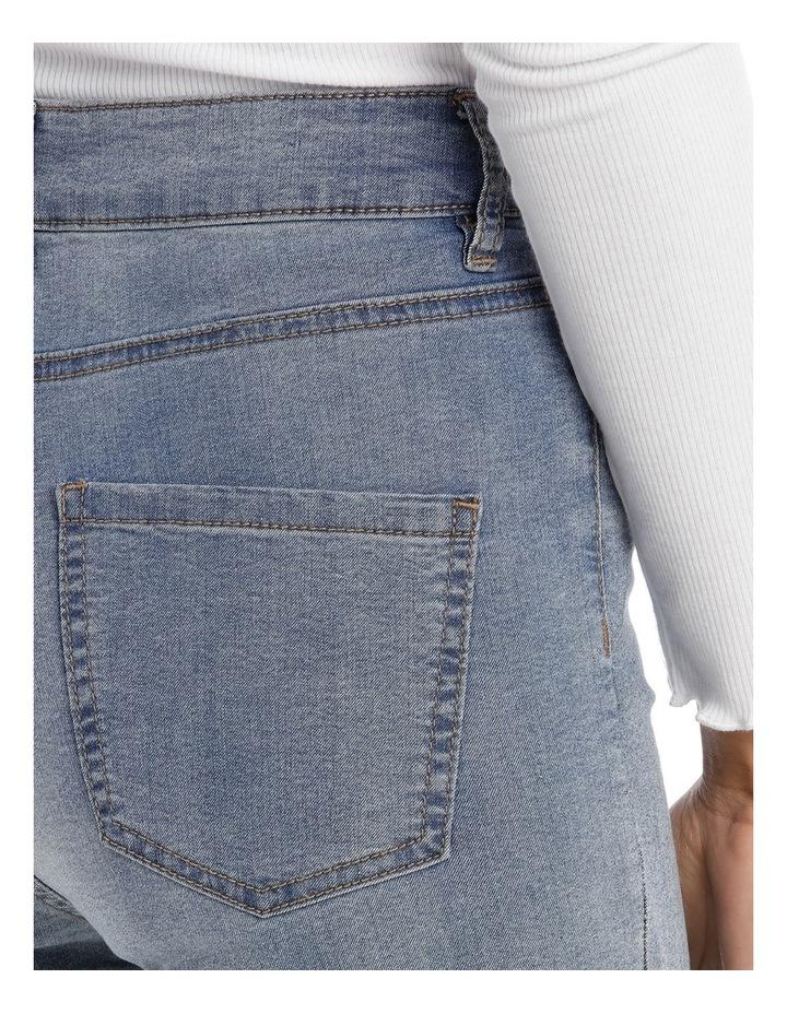 Riley Super High Waist Skinny Jean - Indigo Patch MSCW18065/K image 4