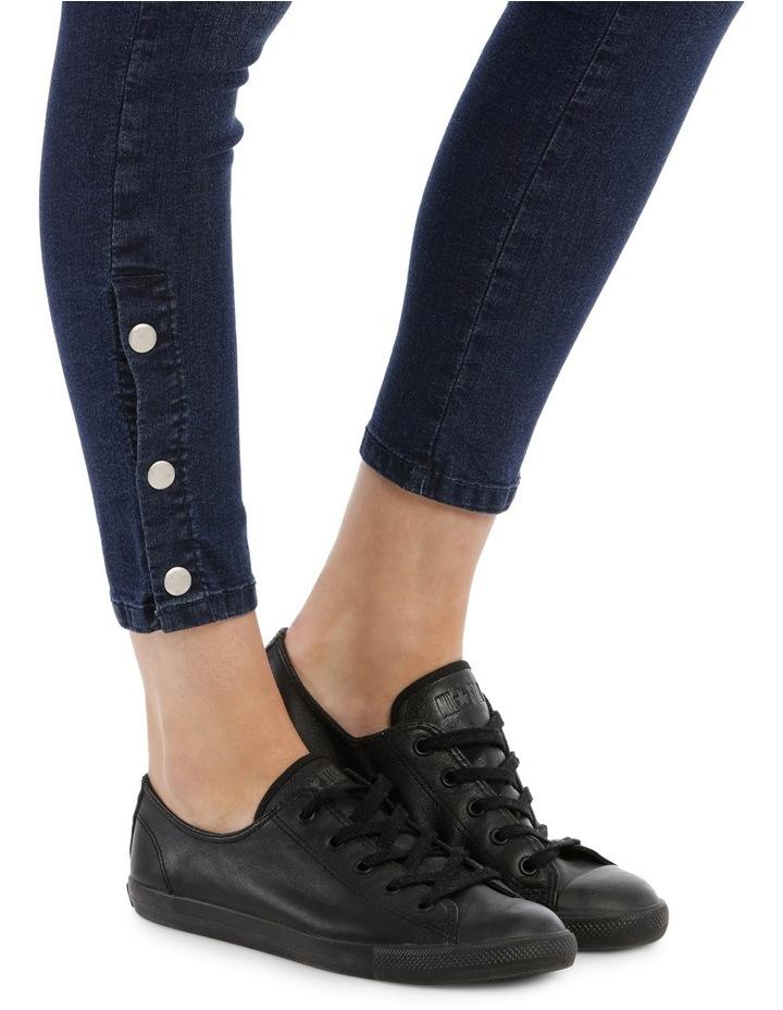 Riley Super High Waist Skinny Jean - Press Stud Detail image 4