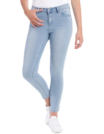 ed318fc9604 Miss Shop Evelyn Mid Waisted Skinny Jean