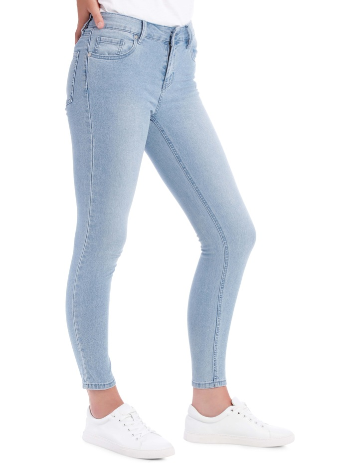 Evelyn Mid Waisted Skinny Jean image 2