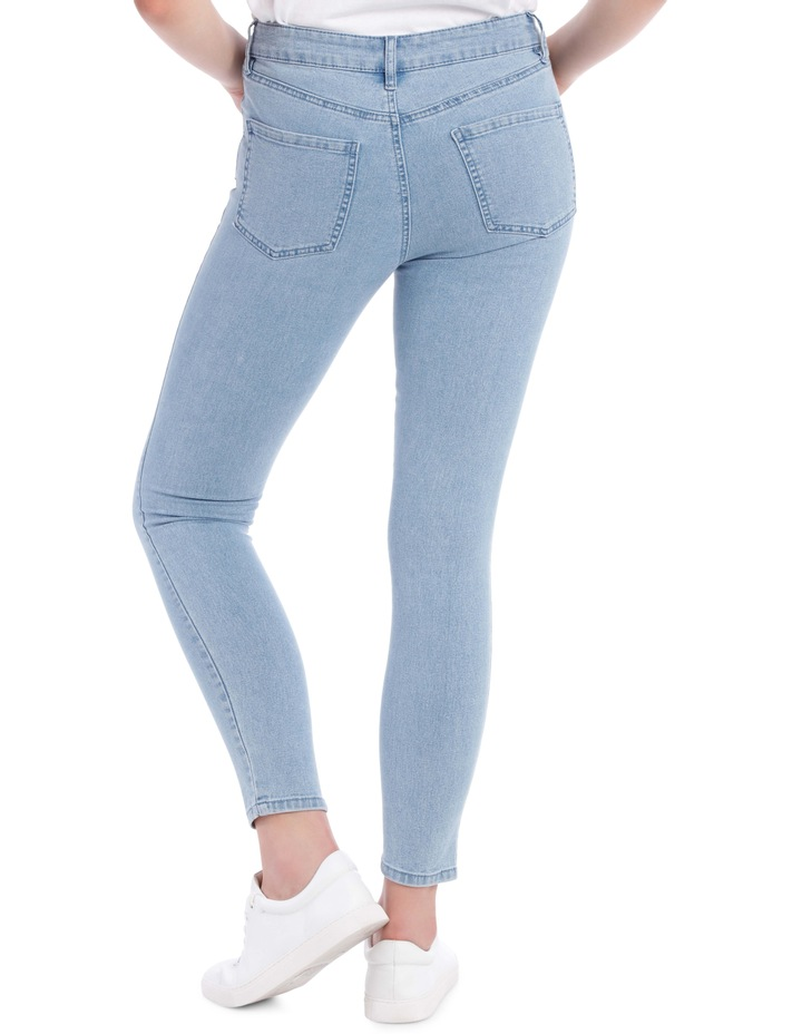 Evelyn Mid Waisted Skinny Jean image 3