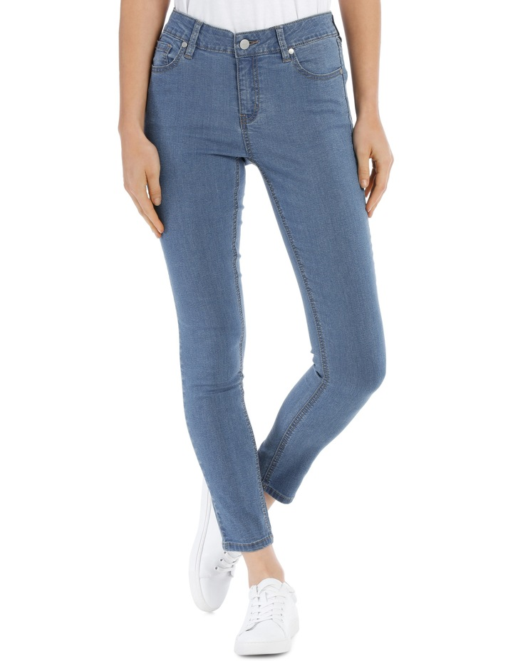 Evelyn Mid Waisted Skinny Jean image 1