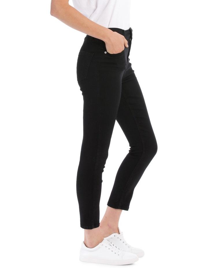 Riley High Waisted Skinny Jean Short Leg image 2