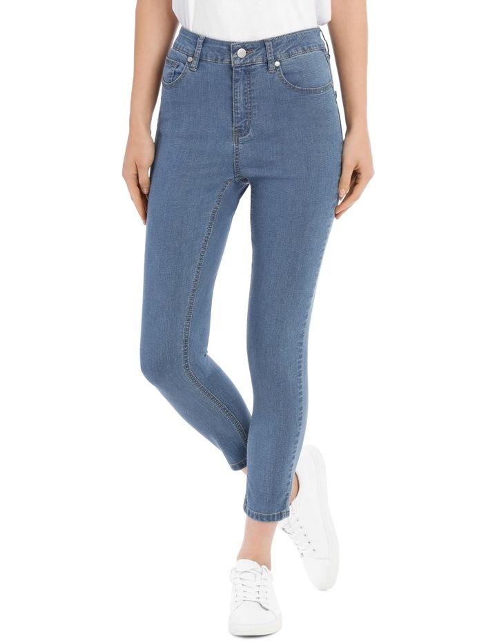 Riley High Waisted Skinny Jean Short Leg image 1