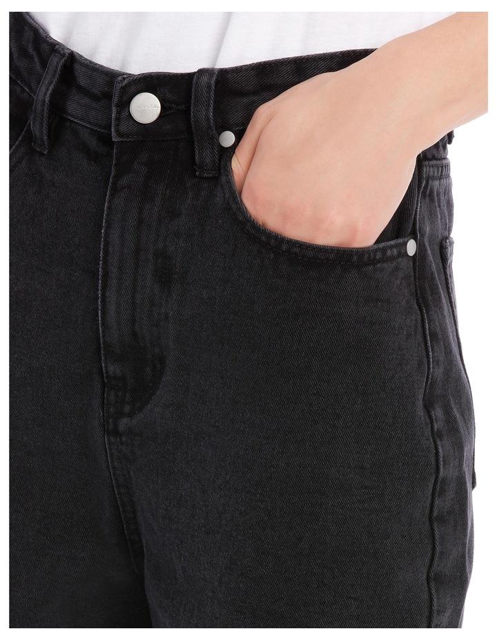 Mia Straight Jean Short Leg image 4