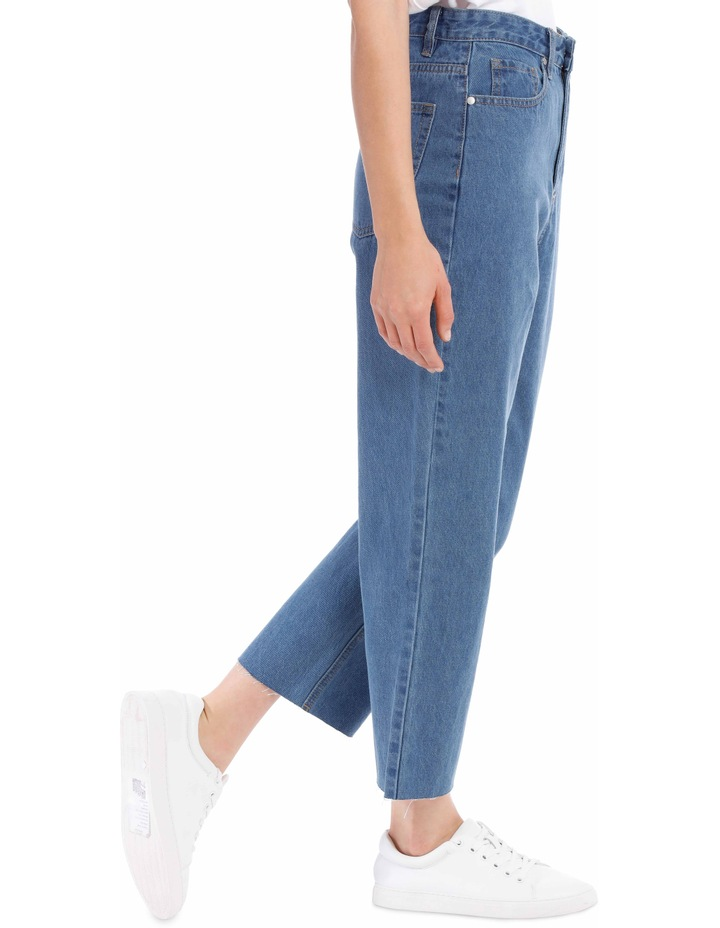 Mia Straight Jean Short Leg image 2