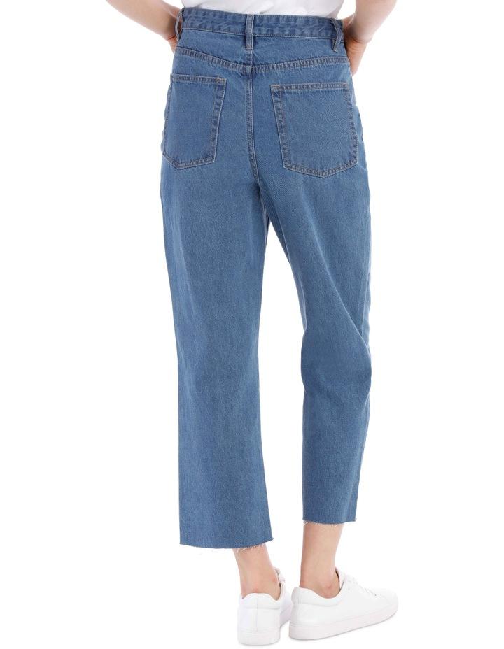 Mia Straight Jean Short Leg image 3