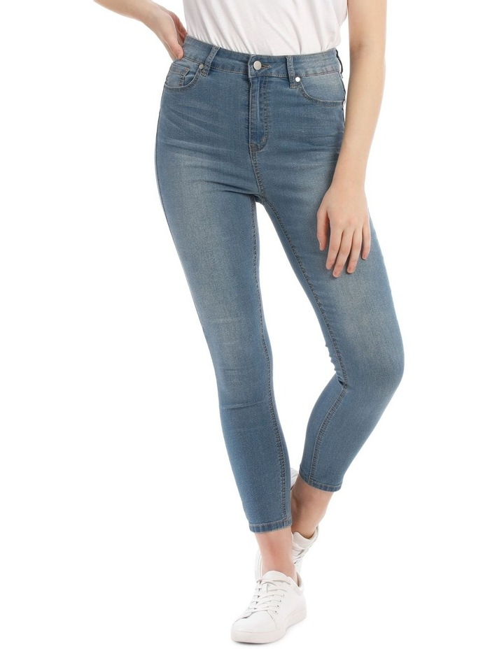 Riley High Waisted Skinny Jean Heritage image 1