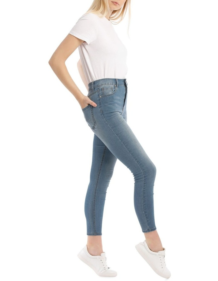 Riley High Waisted Skinny Jean Heritage image 2