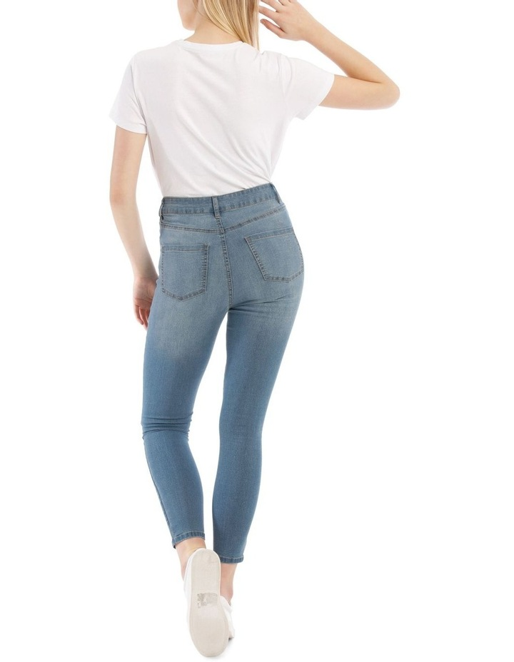 Riley High Waisted Skinny Jean Heritage image 3