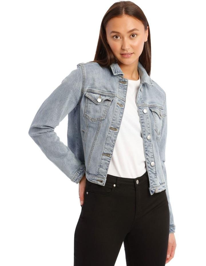 Mid-Blue Denim Jacket image 1