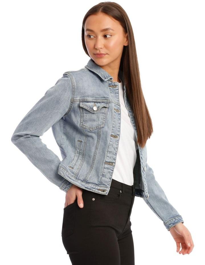 Mid-Blue Denim Jacket image 2