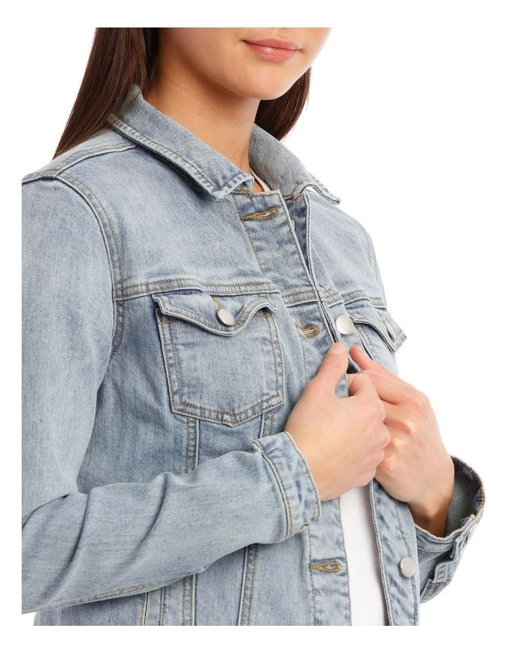 Mid-Blue Denim Jacket image 6