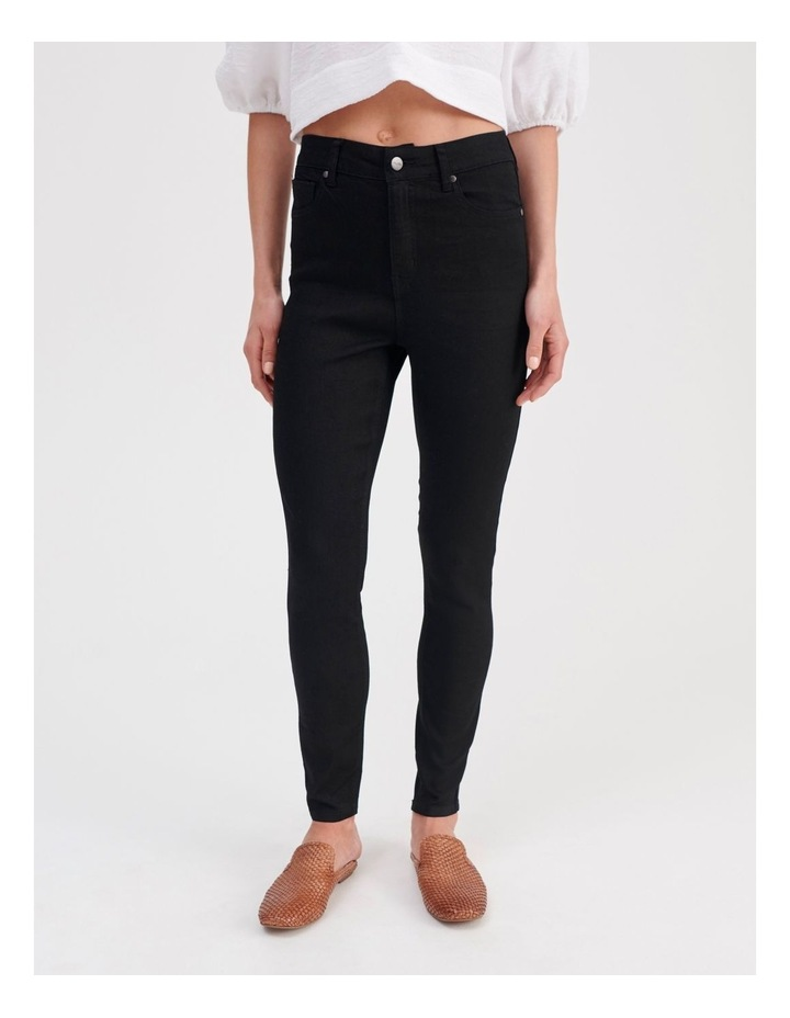 High Waist Skinny Jeans image 1