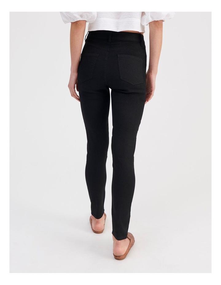 High Waist Skinny Jeans image 4