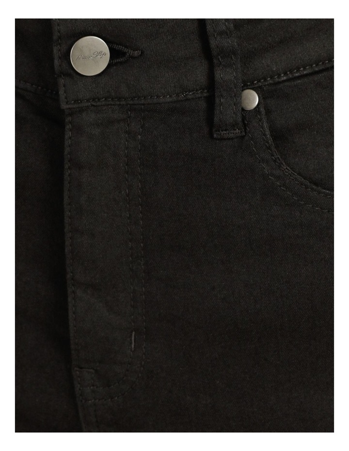 High Waist Black Skinny Jean image 6