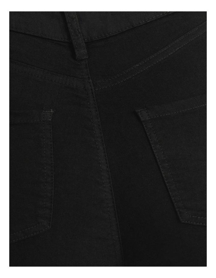 High Waist Black Skinny Jean image 7