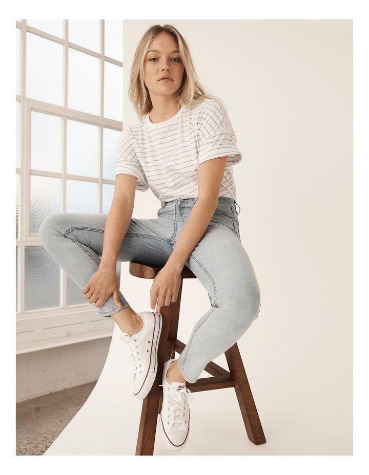 High Waist Skinny Jeans image 2