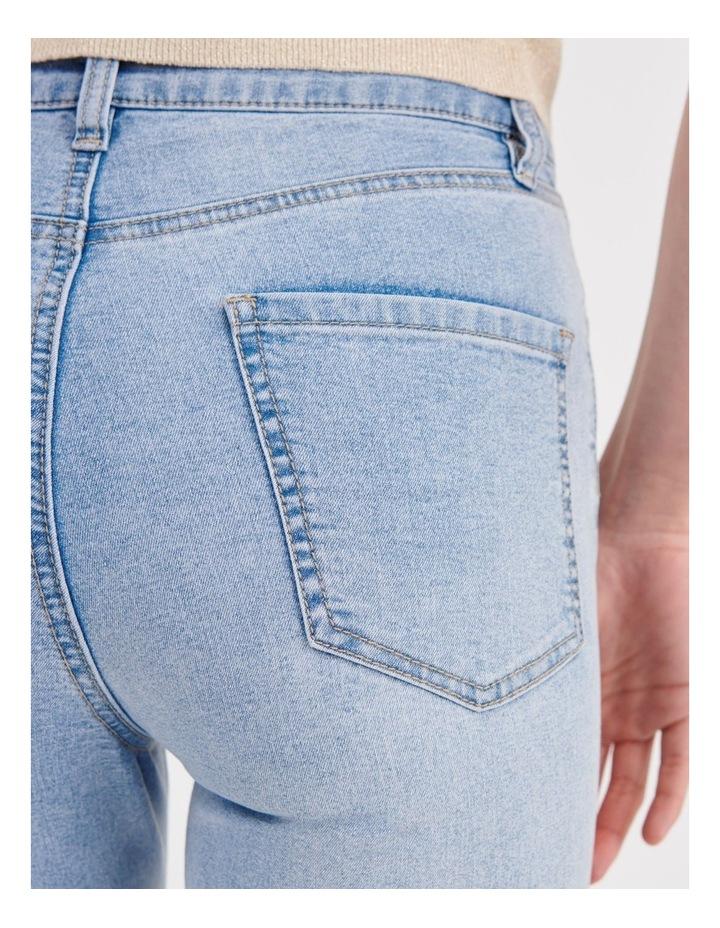 High Waist Skinny Jeans image 7