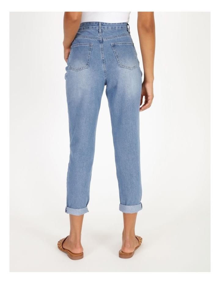 Mom Jeans - Mid Blue image 3