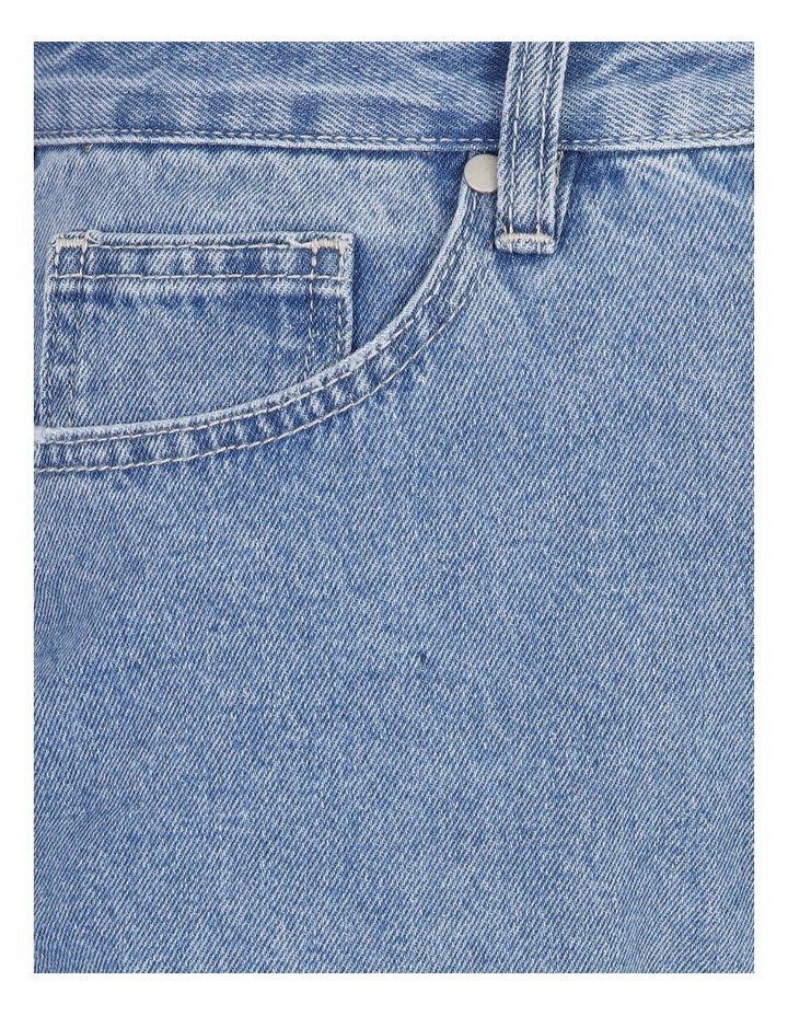 Mom Jeans - Mid Blue image 5