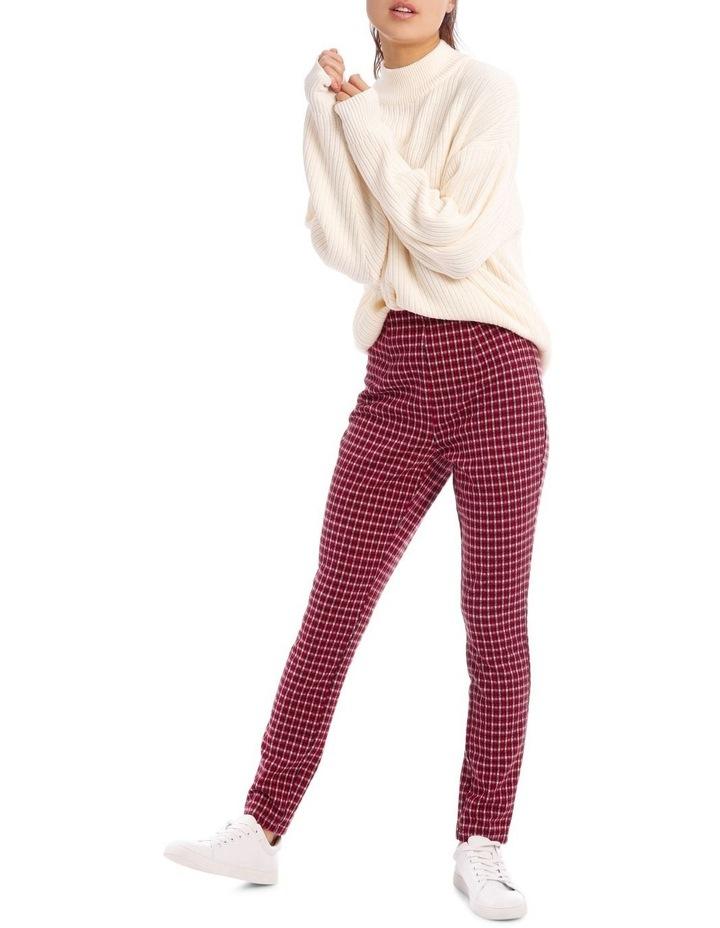 Red Check Pants image 1