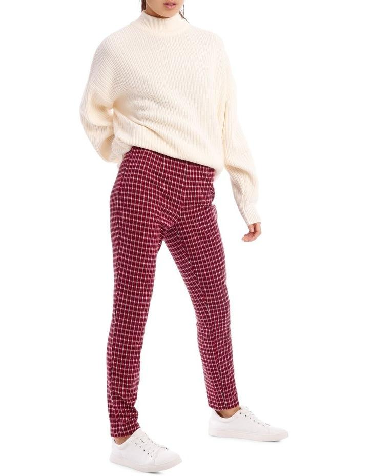 Red Check Pants image 2