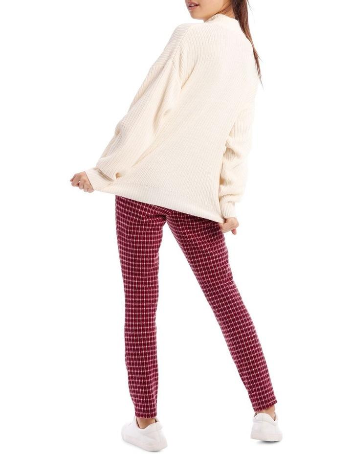 Red Check Pants image 3