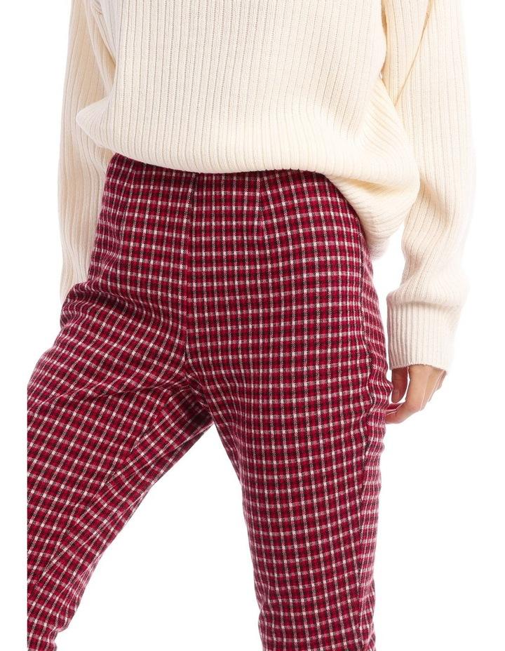 Red Check Pants image 4