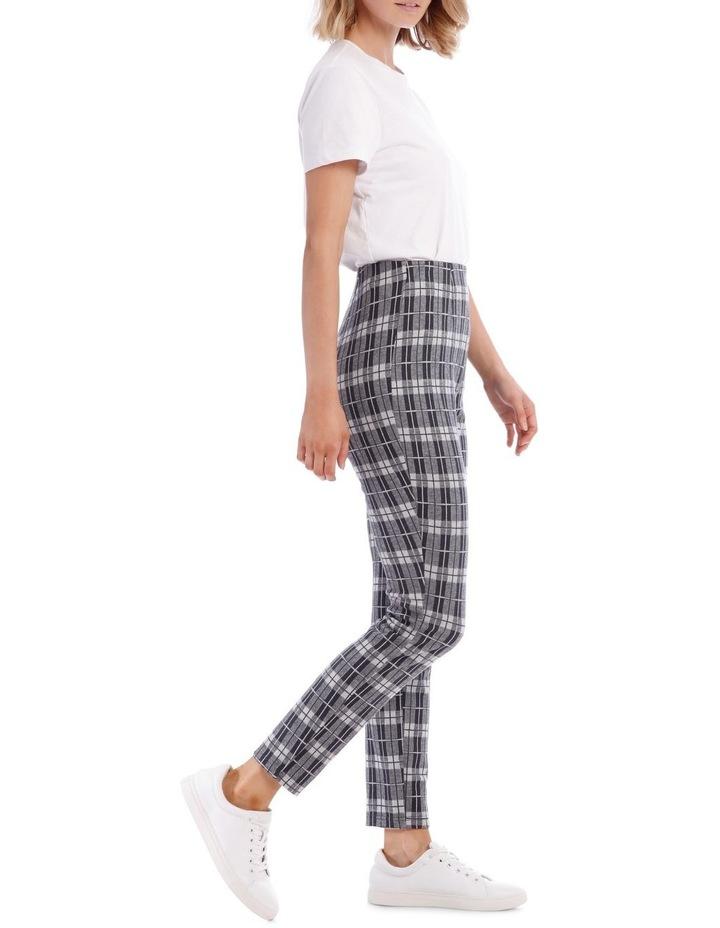 Blue Check Pants image 2