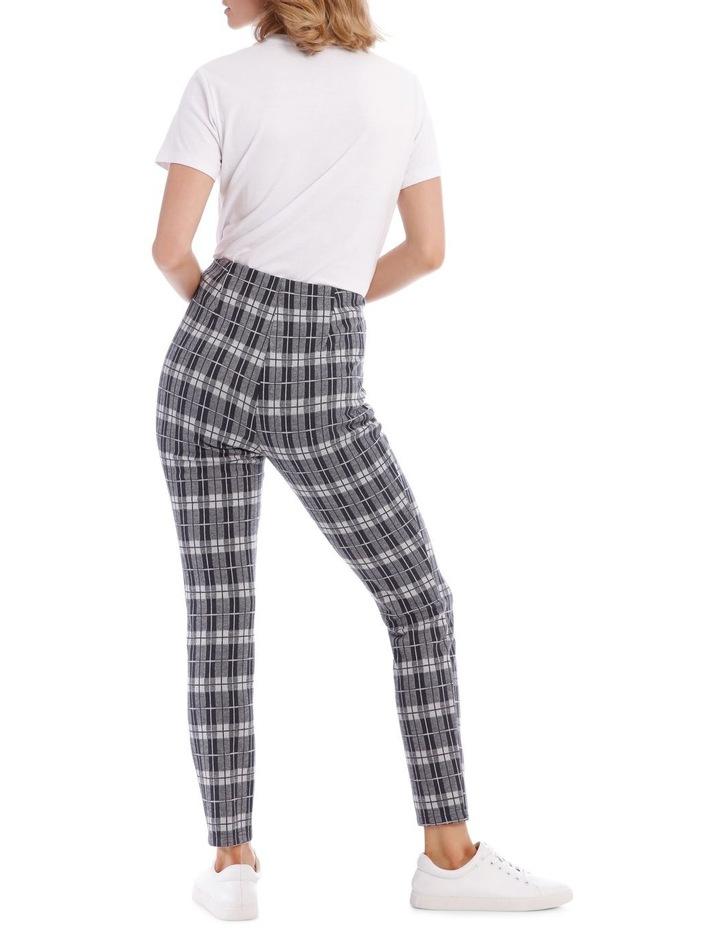 Blue Check Pants image 3