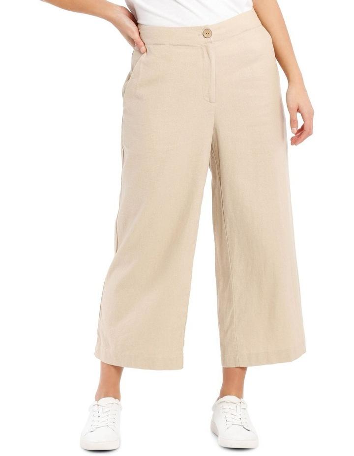 Linen Blend Pant image 1