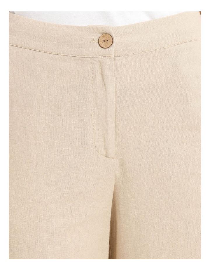 Linen Blend Pant image 4