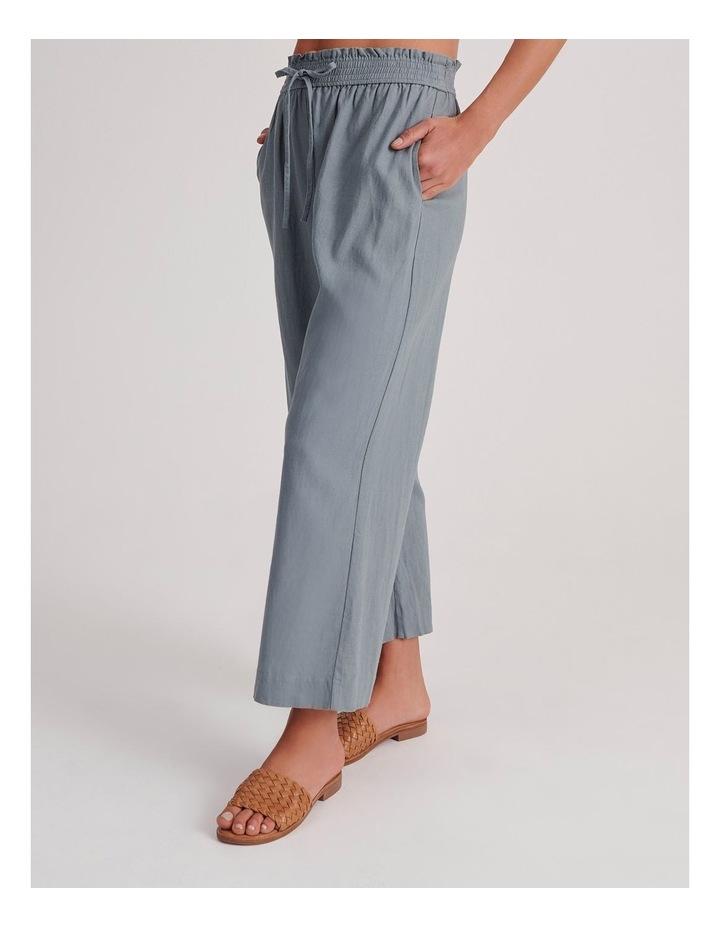 Paperbag Linen Blend Pant image 3