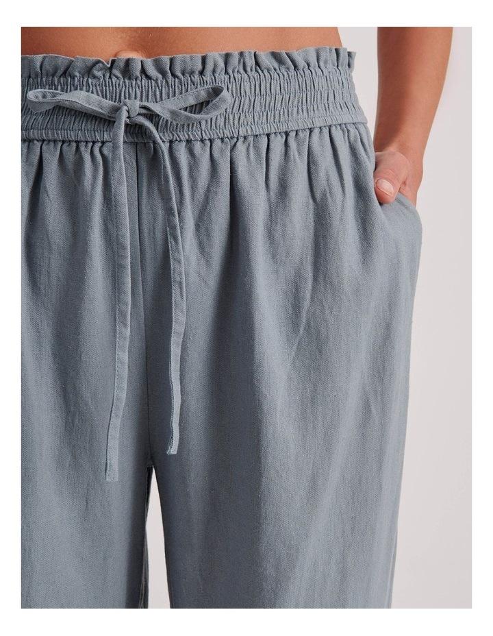 Paperbag Linen Blend Pant image 5