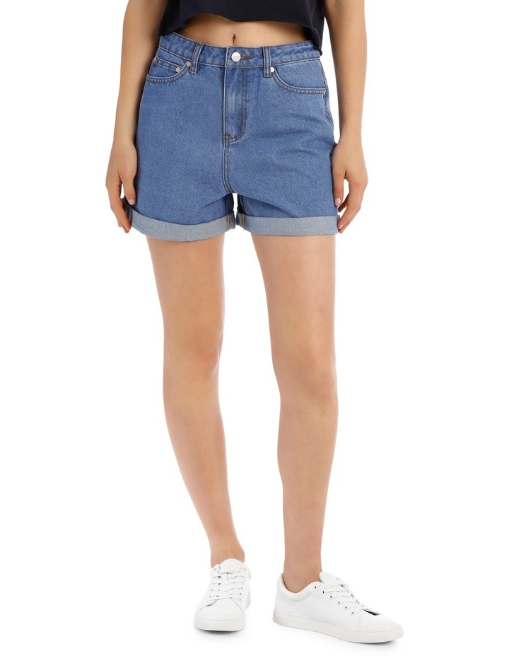 Denim Mom Short image 1