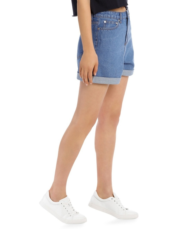 Denim Mom Short image 2