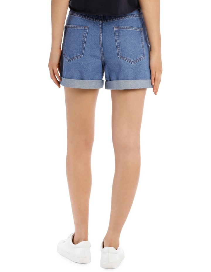 Denim Mom Short image 3