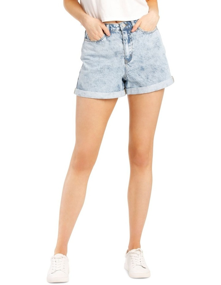 Rigid Denim Mom Short image 1