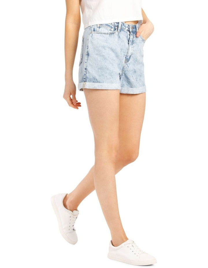 Rigid Denim Mom Short image 2