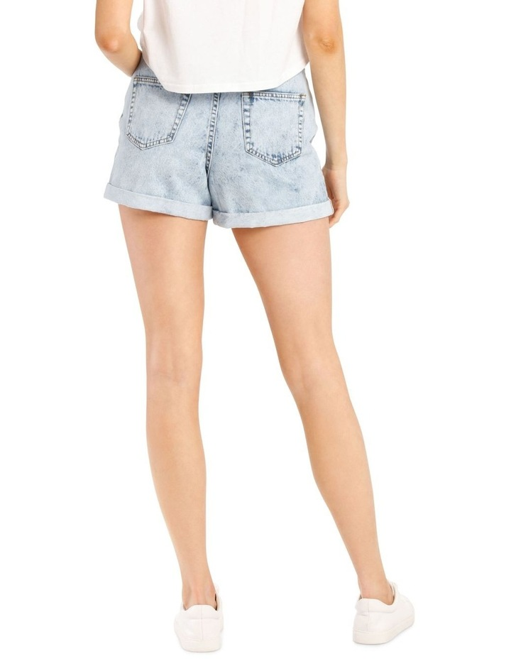 Rigid Denim Mom Short image 3