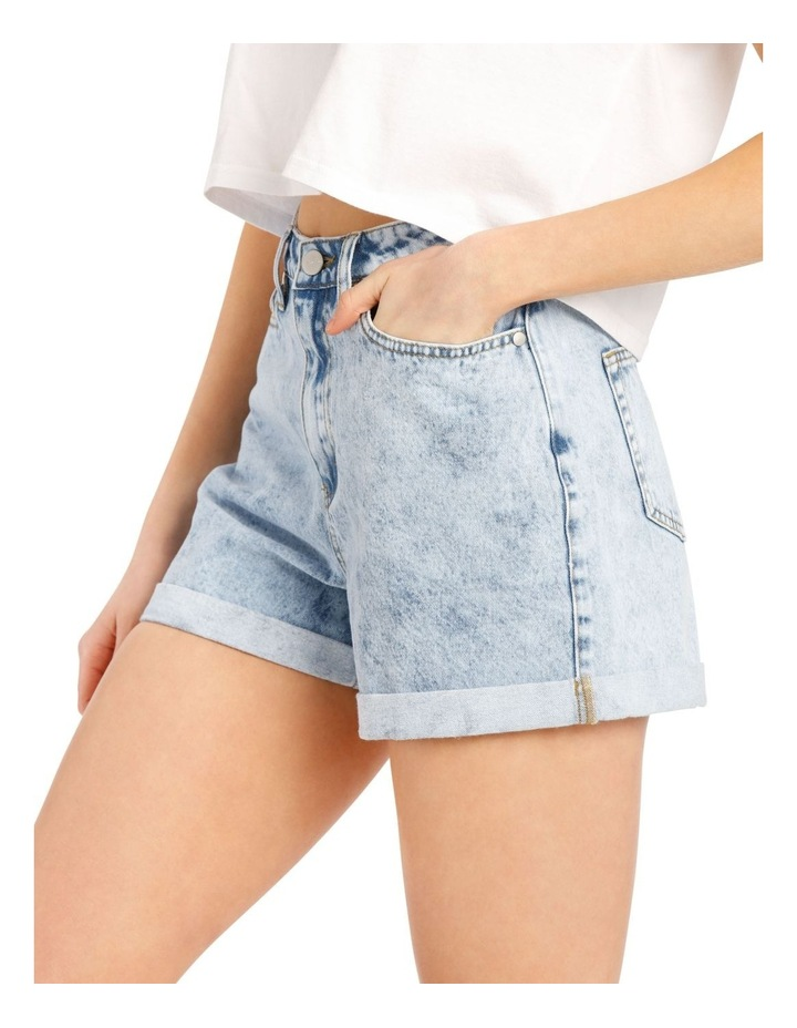 Rigid Denim Mom Short image 4