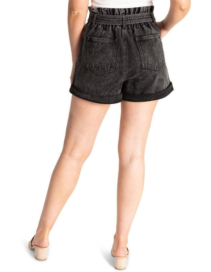 Belted Stitch Detail Shorts image 3