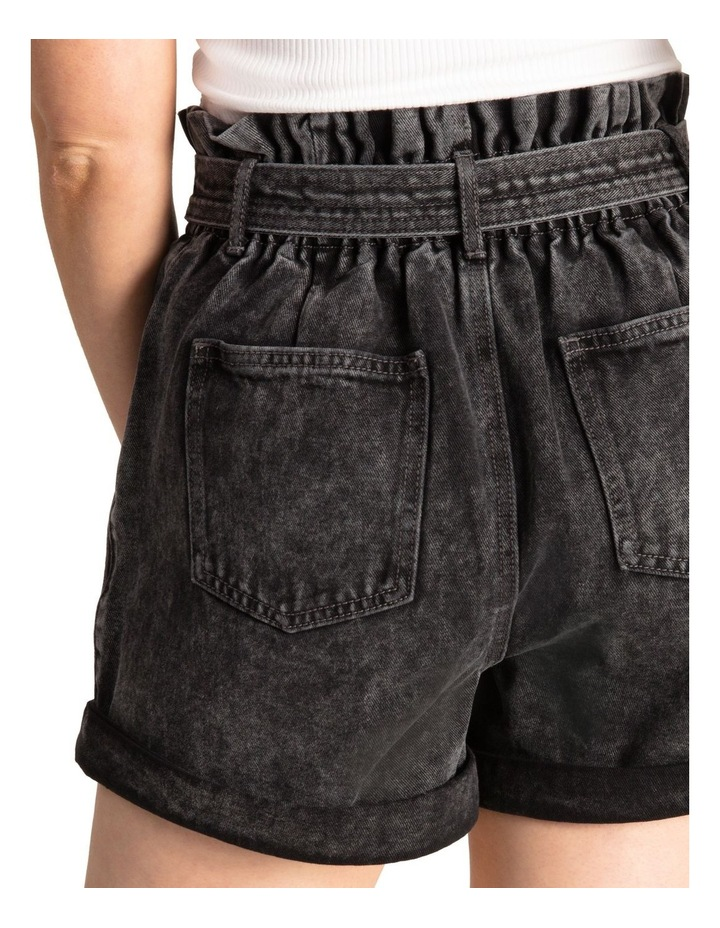Belted Stitch Detail Shorts image 5