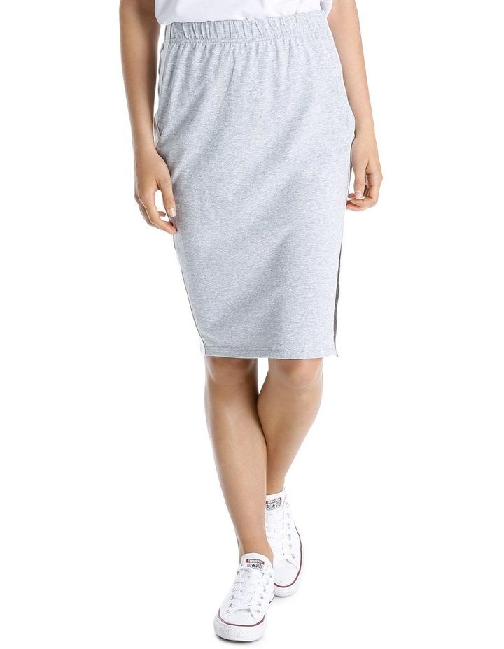 Sporty Stripe Tube Skirt MSCW18246 image 1