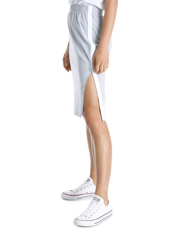 Sporty Stripe Tube Skirt MSCW18246 image 2