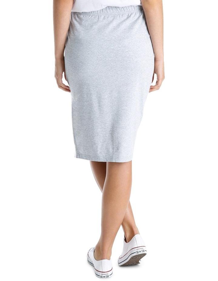 Sporty Stripe Tube Skirt MSCW18246 image 3